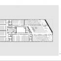 Hörsaalgebäude Osnabrück / Benthem Crouwel Architects First Floor Plan © Benthem Crouwel Architects
