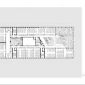 Hörsaalgebäude Osnabrück / Benthem Crouwel Architects Second Floor Plan © Benthem Crouwel Architects