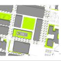 Hörsaalgebäude Osnabrück / Benthem Crouwel Architects Site Plan © Benthem Crouwel Architects
