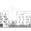 Residential complex Nová Terasa / Vallo Sadovsky Architects Section
