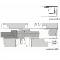 Brick House / Clare Cousins Architects Roof Floor Plan