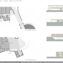 Mensa Waldcampus / Andreas Gehrke Floor Plan & Section