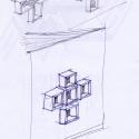 El Santi Cosma e Damiano Parroquial Centro / SCAU Sketch