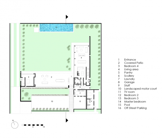 House 01 hyde park daffonchio associates architects for Hyde homes floor plans
