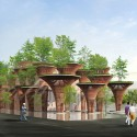Milan Expo 2015: Vo Trong Nghia's Lotus-Inspired Vietnamese Pavilion Courtesy of Vo Trong Nghia Architects