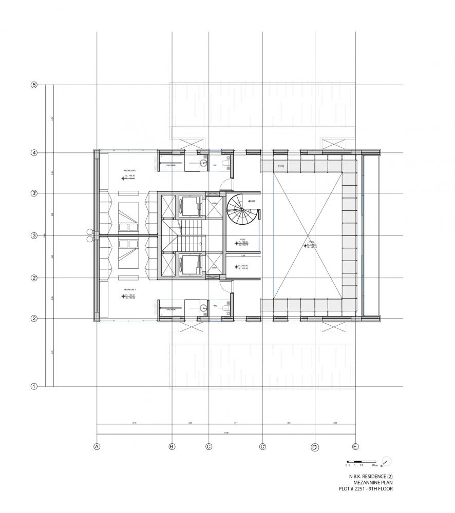 طراحی ویلای مدرن در بلاترین نقطه یک ساختمان قدیمی