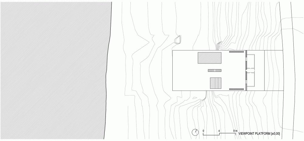 طراحی ویلای بی انتها با سبک مینیمال