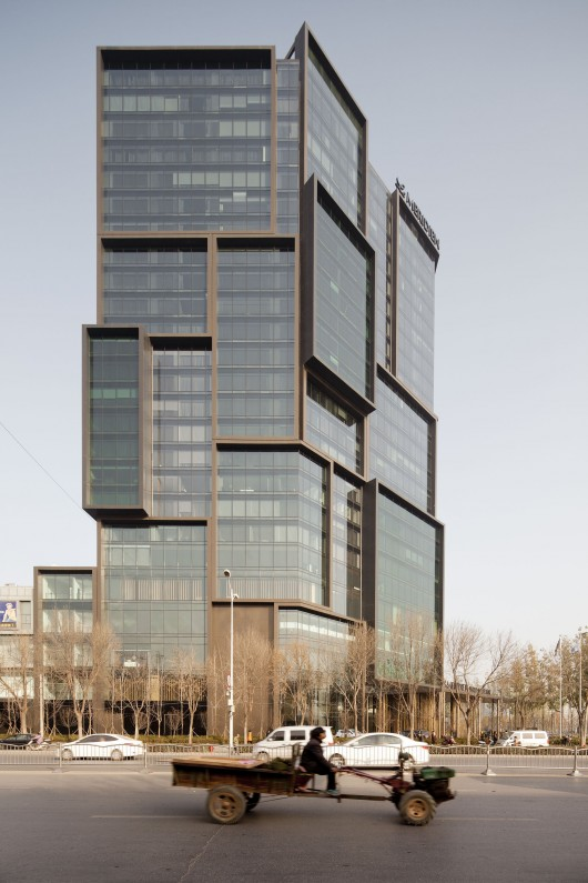 Le meridien zhengzhou neri hu design and research office for Office design research