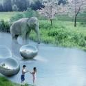 طرح گروه معماری بیگ از باغ وحش آفرقایی در دانمارک