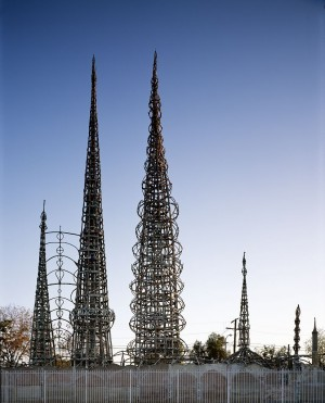 Watts Tower.  Image via Wikimedia