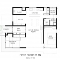 FOO / APOLLO Architects & Associates First Floor Plan
