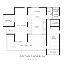FOO / APOLLO Architects & Associates Second Floor Plan