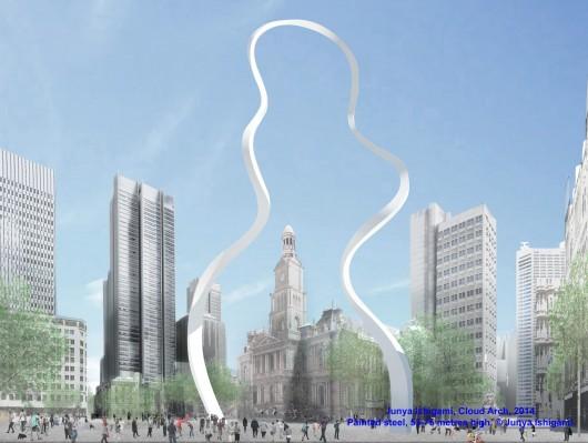 طراحی المان شهری سیدنی استرالیا