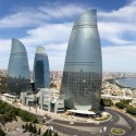 Baku Flame Towers / HOK © Farid Khayrulin