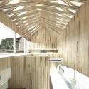 Timber Dental Clinic / Kohki Hiranuma Architect & Associates © Satoshi Shigeta