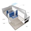Sky Loft / KUBE architecture Diagram