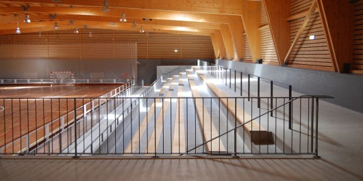 Maceda Sport Building Architailors Archdaily