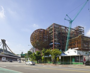 OMA's Taipei Performing Arts Center (TPAC) Tops Out