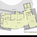 Battelle Darby Creek Metro Park Nature Center / DesignGroup Floor Plan