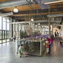 Battelle Darby Creek Metro Park Nature Center / DesignGroup © Brad Feinknopf
