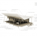 Skow Residence / Colorado Building Workshop + DesignBuildBLUFF Diagram