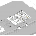 Grotius Building of Radboud University Nijmegen / Benthem Crouwel Architects Axonometric 2
