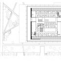 Grotius Building of Radboud University Nijmegen / Benthem Crouwel Architects Fourth Floor Plan