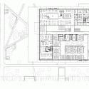 Grotius Building of Radboud University Nijmegen / Benthem Crouwel Architects Second Floor Plan