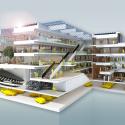 Grotius Building of Radboud University Nijmegen / Benthem Crouwel Architects Diagram 2