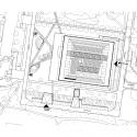 Grotius Building of Radboud University Nijmegen / Benthem Crouwel Architects Site Plan