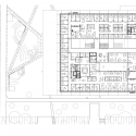 Grotius Building of Radboud University Nijmegen / Benthem Crouwel Architects Third Floor Plan