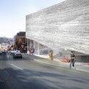 BIG Designs Rejected Again for Kimball Art Center Revised design for the Kimball Art Center. Image Courtesy of BIG