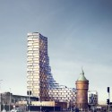 3XN Designs Affordable Housing Tower in Denmark Courtesy of 3XN
