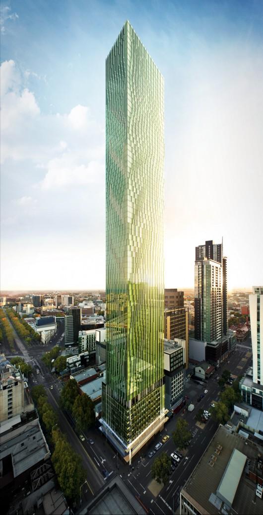 Elenberg fraser reveals designs for melbourne s tallest for Residential landscape architects melbourne