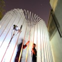 This Whimsical Cage Redefines Public Space Courtesy of Warren Techentin Architecture