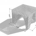 HILA Pavilion / Digiwoodlab Project + University Of Oulu Students Axonometric 4
