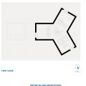 Villa Moerkensheide / Dieter De Vos Architecten First Floor Plan
