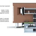 Building of Construction Engineering Disciplinary Organization / Dayastudio  + Nextoffice Diagram 1