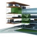 Building of Construction Engineering Disciplinary Organization / Dayastudio  + Nextoffice Diagram 5