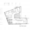 Building of Construction Engineering Disciplinary Organization / Dayastudio  + Nextoffice First Floor Plan