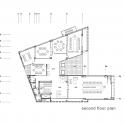Building of Construction Engineering Disciplinary Organization / Dayastudio  + Nextoffice Second Floor Plan