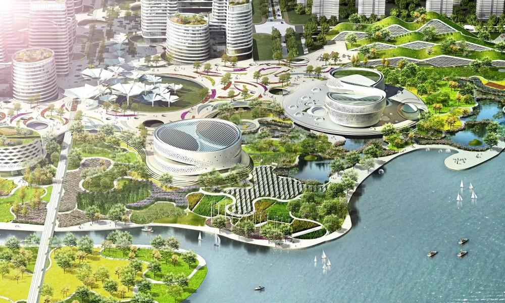 В Китае может появиться полностью автономный эко-мегаполис