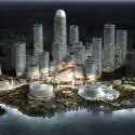 Master Plan Revealed for Binhai Eco City in Tianjin Courtesy of Holm Architecture Office