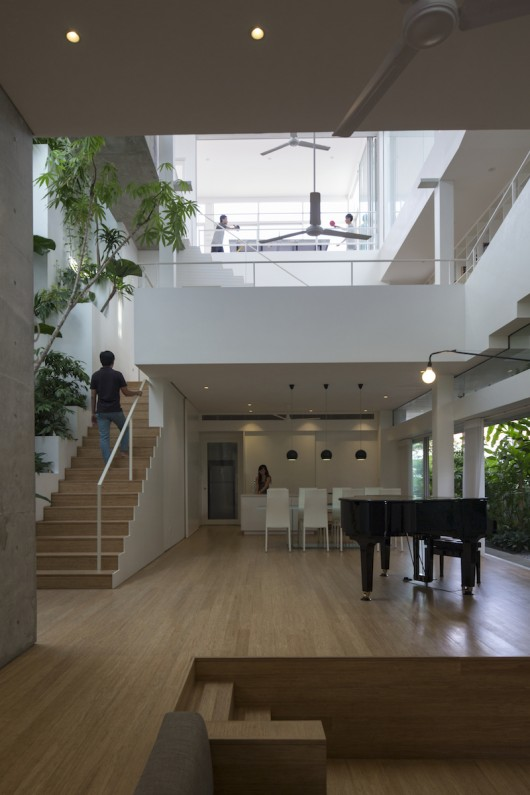 Connections under one roof for Terrace house singapore