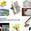 ArchDaily's Most Useful Articles of All Time ArchDaily's Most Useful Articles of All Time