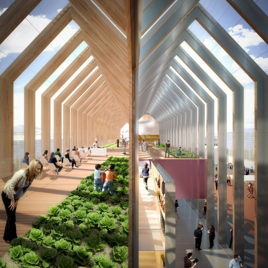 Milan Expo 2015 B720 Designs Greenhouse Inspired Pavilion For