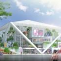 Shigeru Ban to Construct Tainan Museum of Fine Arts © Shigeru Ban Architects