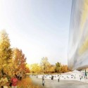 Jean Nouvel Releases Official Design for National Art Museum of China To the East, a fusion of sky and gardens. Image © Ateliers Jean Nouvel