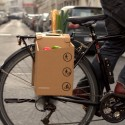 Architects Design Cardboard Carrier to Improve City Cycling Courtesy of Packtasche