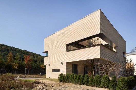 L Square House Wise Architecture Archdaily